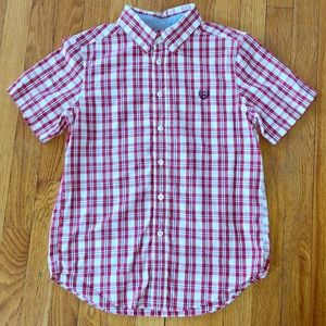 Chaps Button Down with Short Sleeves
